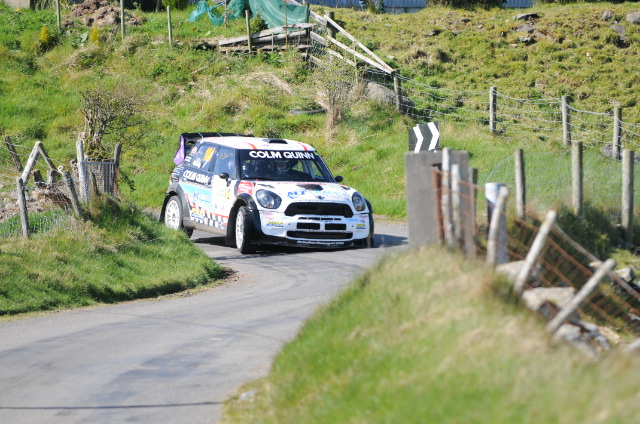 Donnelly Motorsport on SS3 of the 2014 COI Thanks to www.RallyPicsLive.com for the image.